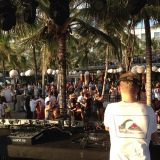 Damian Saint recorded live for sunset @ Woobar Bali 24.08.2014