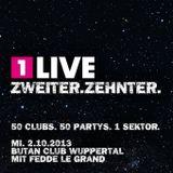 JayJay @ 1Live Clubnight zweiter.zehnter. Butan Club Wuppertal