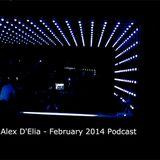 ALEX D'ELIA - FEBRUARY 2014 -PODCAST