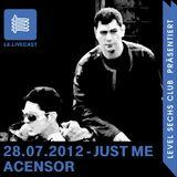 28.07.12 Just Me - Techno Edition II - Acensor