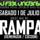 Can You Feel Underground #71 by Bertu Coll. Guest Mix RAMPA (1 Julio 2017)