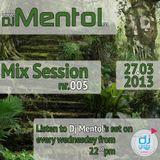 Dj Mentol @ Dj Radio - Mix Session (27.03.2013)
