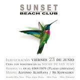 SUNSET BEACH CLUB 25-06-2017