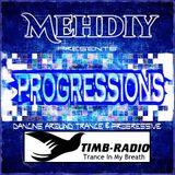 PROGRESSIONS#055 mixed by MEHDIY