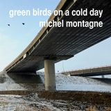Green Birds On A Cold Day