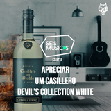 PARA APRECIAR UM CASILLERO DEVIL'S COLLECTION WHITE