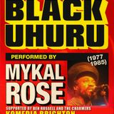 The Sound of BLACK UHURU (1977-1985) performed by Mykal Rose Live in Brighton 2018