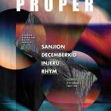 """Rhym, DecemberKid, Sanjion, Injeru: """"PROPER"""" @ Café Mondo"""
