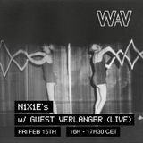NiXiE w/ Verlanger (live) at We Are Various | 15-02-19