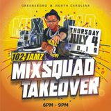 "@DJLilVegas - 102 Jamz ""4th of July MixSquad Takeover "" Mix - Aired July 4, 2019"