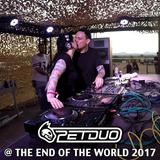 PETDuo B2B set @ The End of The World Fest, Tarragona, Spain, 04.08.17