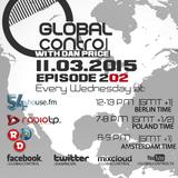 Dan Price - Global Control Episode 202 (11.03.15)