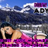 DEEJAY ADYNO -THE BEST MUSIC MOOMBASONG  DECEMBER 2017 /DECEMBRIE