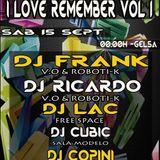 Sala Free Space Gelsa Remember  -  DJ Frank , Dj Ricardo , Dj Lack  vol3  (16-9-2012)