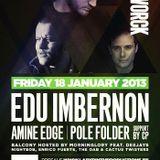Edu Imbernon live @ Café d'Anvers Antwerp, 18th januari 2013