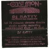 Ratty @ Obsession : The 3rd Dimension Westpoint Cut 30/10/92