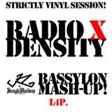 Radio X, Basel - Density 09.12.2014 Bassylon - MashUp - L4P. Vinyl Mix