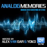 Syko - Analog Memories Guest Mix March 2013 as heard on DI.FM hosted by Yoko
