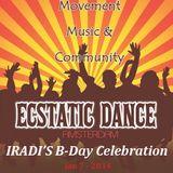Ecstatic Dance Birthday Celebration 7 jan 2014