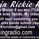 RockinRickieRadio - Tommy Gibbons In Studio  Feb 28, 2016