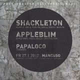 Warmup for Shackleton & Appleblim 2012 Mancuso Tübingen