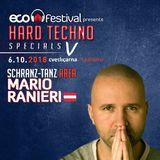 Mario Ranieri @ ECO Festival pres. Hard Techno Specials V, Cvetličarna Ljubljana, Slovenia 6.10.2018