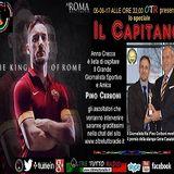 """Speciale """"Il Capitano Francesco Totti"""" Anna Crecco con Il Grande Giornalista Sportivo Pino Cerboni"""