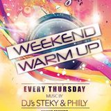 Ruby's Bar 60 min Weekend Warm-up mix Jan 15