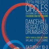 Circles. 11th April  - Drum & Bass warm up mix.