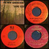 10 virginia & carolina gospel 45s #9 7/6/14