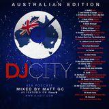 Matt GC - DJcity Podcast (Australian Edition) 11/21/13