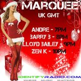 BarryB - Marquee Radio Mix on the 14/12/2018