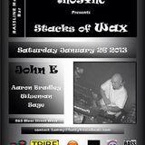 Aaron Bradley @ #NoSync Stacks of Wax Night 27/01/13