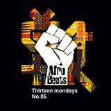 13 mondays. No.05 - Afro Beats