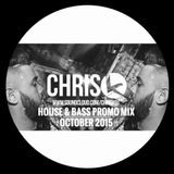 CHRIS K OCTOBER HOUSE & BASS PROMO MIX
