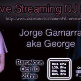 Live Streaming Dj Set: Jorge Gamarra aka George