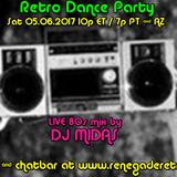 Retro Dance Party 05.06.2017 LIVE on Renegade Retro <renegaderetro.com>