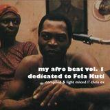 My Afro Beat Vol.1 // Dedicated to Fela Kuti