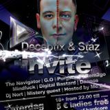 Warm-up mix Deceptix and Staz invite by Dj D-Ossano and Dee N