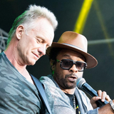 Sting & Shaggy Jam Session