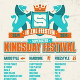 Darkraver & Vince – live @ SuperSized Kingsday Festival 2014 (Aquabest, Best) - 26.04.2014
