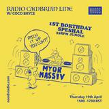 Radio Cambrian Line W/ Coco Bryce: 19-04-18