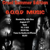 G.O.O.D Music Cruel Summer 1st Fridaye Mix Hr. 1