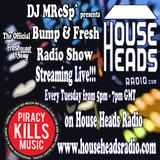 DJ MRcSp`pres The Bump & Fresh Radio Show (Tues 8th July 2014) FSS Promo