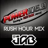 DJ JAB Power 106.9 Omaha Rush Hour Mix