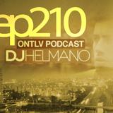 ONTLV PODCAST - Trance From Tel-Aviv - Episode 210 - Mixed By DJ Helmano