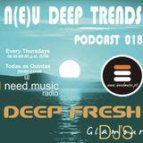 N(E)U DEEP TRENDS - Episode 18 - Mixed by Deep Fresh