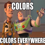 Colors everywhere