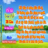 Đề Tài: Cố xô sệp thần (thánh) quyền cho hết-Nguyễn Thanh Giàu