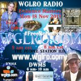 WGLRO RADIO with David Fisher evidence matters #FreeRodneyReed the DWMS 11-18-2019